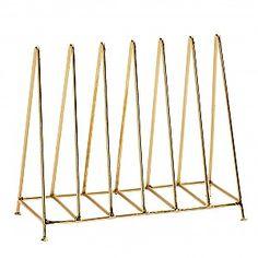 Brevställ Triangel - Guld Blank
