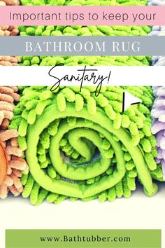 You wouldn't want to see your bathroom rug under a microscope! Not unless you follow our tips to keep your clean and free from mildew, mold, bacteria and fungus. We also offer product suggestions for mats that clean up easily and are super stylish.  How to keep bathroom rugs clean. How to keep bath mat clean. Sanitary bath mat. Sanitary bathroom ideas. Sanitary bathroom.  #Howtokeepbathroomrugsclean #Howtokeepbathmatclean #sanitarybathmat #sanitarybathroomideas #sanitarybathroom Mold In Bathroom, Spa Like Bathroom, Bathroom Rugs, Bath Gift Basket, Diy Gift Baskets, Small Bathroom Ideas On A Budget, Diy On A Budget, Elegant Bathroom Decor, Bathroom Accessories Luxury