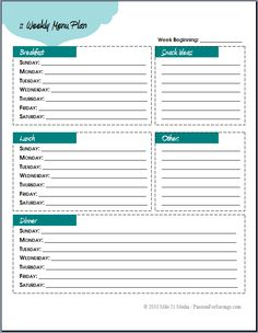 Coupon and stockpile planning lists Weekly Menu Planning, Meal Planning, Printable Budget Sheets, Weekly Menu Template, Coupon Organization, Organizing, Budgeting Worksheets, Online Coupons, Ways To Save