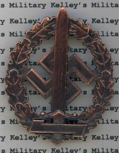 SA Sports Badge for War Wounded