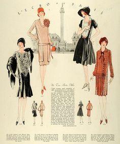 1920s fashion illustrations - Google Search