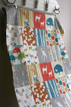 ORGANIC Elk Grove Patchwork  Elk Grove Collection by SewFineFabric, $16.00