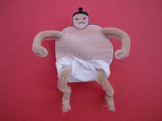 Mini Sumo Wrestler Craft