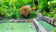 The Awesome Hot Spring in Northern of Bali The sacred hot springs 'Air Panas' of Banjar are set in the midst of the jungle in a beautiful. Bali Lombok, Lovina Bali, Places To Travel, Places To Visit, Voyage Bali, Tourist Sites, Spring Pictures, Places Of Interest, Ride Or Die