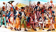 """""""Les volontaires de 1792-1793"""", Liliane et Fred Funcken"""