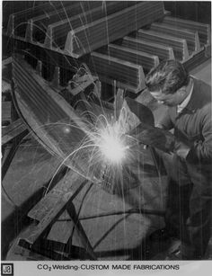 Cool old-school welding pic
