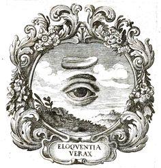 Emblem - Engraving - Eye emblem 5