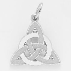 Celtic Circle of Life Charm $29 The triangle is known as The Trinity Knot, representing The Holy Trinity.