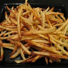 Healthy homemade fries.  I make a similar recipe, but I will have to try this next time