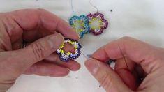 Open Double-Sided Flower Bead Weaving Tutorial