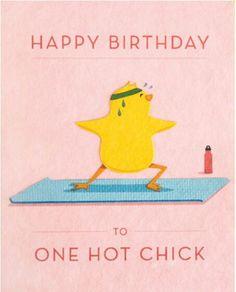 Hot Chick Birthday Card - Happy Birthday Funny - Funny Birthday meme - - Hot Chick Birthday Card by Good Paper The post Hot Chick Birthday Card appeared first on Gag Dad. Happy Birthday Hot, Happy Birthday Messages, Happy Birthday Quotes, Happy Birthday Images, Happy Birthday Greetings, Birthday Pictures, Funny Birthday, Card Birthday, Birthday Funnies