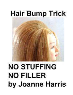 Sex bump hair style