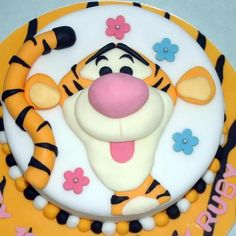Another tigger cake!