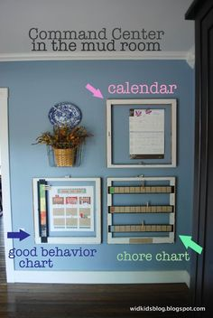 Chore and behavior chart - Click image to find more Kids Pinterest pins