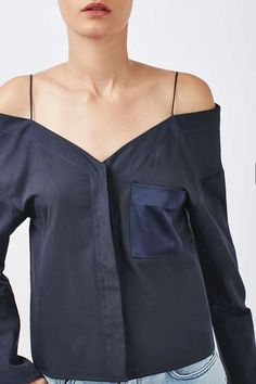 Bardot Off-The-Shoulder Shirt by Boutique
