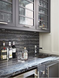 Inspiration for black kitchens. Hadley Court Interior Design