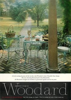 83 Best Vintage Woodard Wrought Iron Images In 2019