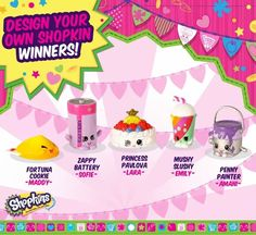 Shopkins World design your own Shopkins winner