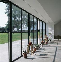 Casa minimal nella campagna inglese/ Living Corriere