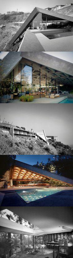 Sheats-Goldstein residence // John Lautner
