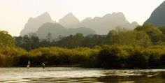 Nam Ou River, Northern Laos    Source : http://www.ipernity.com/doc/massardier/album
