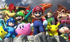 Why Super Smash Bros. Wii U Deserves to Dethrone Melee - While I agree that has really awesome points to it, I'm disappointed it doesn't have certain elements only found in Melee, such as Target Smash, Adventure Mode, and local tournament mode. Super Smash Bros, Super Smash Flash, Smash Bros Wii, Mario Bros Pc, Super Mario Bros, Wii U, Nintendo Characters, Flash Characters, Video Game Industry