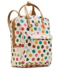 Tory Burch Backpacks KERRINGTON Top Handle Backpack In Multi Dot