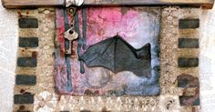 Use Creative Paperclay® to make a batty piece of mixed media art work!