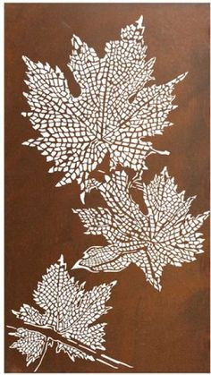Metal Wall Art :: Flowers, Leaves & Trees :: Grape Vine Portrait Laser Cut Metal Wall Art -