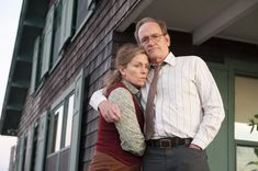 """""""Olive Kitteridge,"""" HBO Go. Based on the Elizabeth Strout novel about a cranky Mainer (Frances McDormand) and her endlessly patient spouse (Richard Jenkins), was one of the great joys of the 2014 season. McDormand is magnificent. A must-binge. Richard Ii, Richard Jenkins, Agatha Christie, Olive Kitteridge, Chauffeur De Taxi, Little Dorrit, The Hollow Crown, New York Taxi, Naughty Kids"""