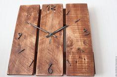 Купить часы в стиле loft - комбинированный, часы, часы настенные, часы…