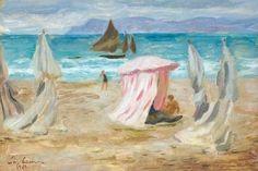 Charles Camoin, Scene de plage