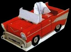 For all the Baby Boomers 57 CHEVY Tissue Box by NiftyStitches4U, $20.00