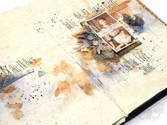 Finnabair: Art Recipe: Breathe, Live, Shine - art journal pages