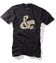 house industries ampersand tee