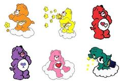 110 CAREBEARS EMBROIDERY DESIGNS