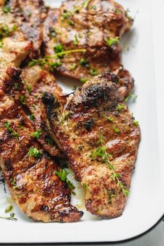 How To Cook Pork Shoulder Steak Recipe Cooking LSL. Grilled Pork Steak Recipe Or BBQ Pork Shoulder Steaks. Home and Family Blade Steak Recipes, Steak Recipes Stove, Grilled Pork Shoulder, Pork Recipes, Pork Shoulder Blade Steak, Pork Steak Recipe Oven, Baked Pork Steaks Oven, Crockpot Pork Steaks, Barbecue