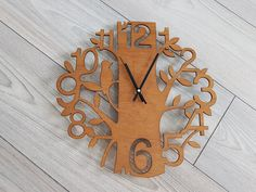 ceas perete decorativ din lemn Clock, Wall, Modern, Home Decor, Watch, Trendy Tree, Decoration Home, Room Decor, Clocks