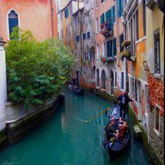 Venecia, Italia...como en las películas...muy romántico