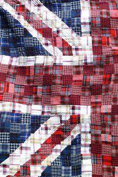 hannah leigh: Quilt: Union Jack