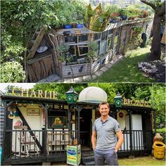 Be inspired, solar eco cottages built from recycled material