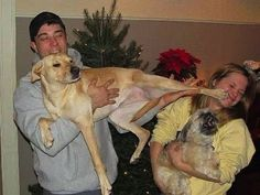 Not easy taking family pics with pets! 50 Funny Pictures Of People Posing With Their Pet Animals That Are Hilarious Page 16 of 25 Funny Animal Pictures, Funny Photos, Funny Animals, Cute Animals, Pet Photos, Pet Pictures, Funniest Animals, Funniest Pictures, Hilarious Pictures