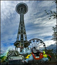 Seattle Center - Fun Forest!