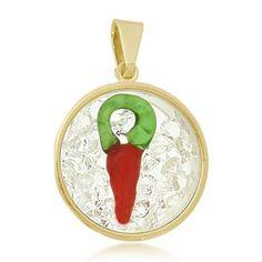 Pingente Amuleto Pimenta #pingente #amuleto #pimenta #folheado #ouro #fashion #moda #tendencia #acessorios #inlove #amomuito #loucasporacessorios #fmelos