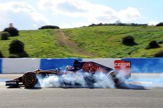 Toro Rosso lock-up in Jerez.