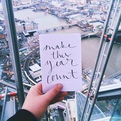 26th Creativity Challenge: Handwriting Day 2015 - Make This Year Count