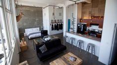 Bailey Hat Loft à Los Angeles par Cush Design Studio