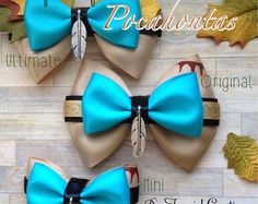 The Pocahontas Inspired Bow