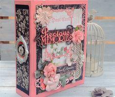 Scrapbook Album,   Love Themed Srapbook album, Wedding Album, Anniversary Album, Valentine's Gift, Wedding gift by shereenaftab on Etsy