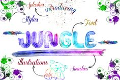 Jungle +Extra Limited Time %50 Off by OnlyTheOriginaLs on Creative Market